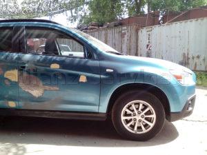Примеры работ. Кузовной ремонт Mitsubishi ASX.