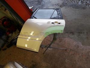 Примеры работ. Ремонт и покраска задней двери Suzuki Grand Vitara.