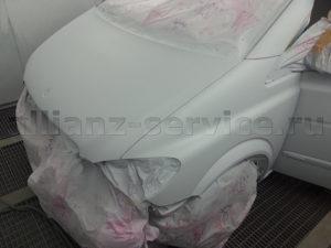 Примеры работ. Покраска Mercedes-Benz.