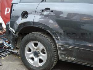 Примеры работ. Покраска заднего бампера, крыла и двери Suzuki Grand Vitara.
