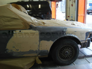 Примеры работ. Покраска Lincoln Town Car.