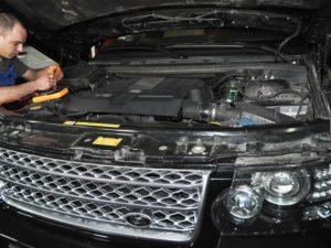 Ремонт и обслуживание автомобилей марки Ленд Ровер